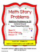SEUSS THEMED ADDITION MATH STORY PROBLEMS TO 20*READ.DRAW.