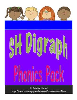 SH Digraph Leveled Phonics Pack