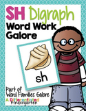 SH Digraph Word Work Galore-Differentiated and Aligned