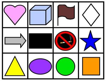 A~SPANISH~SHAPES COLORS AND NUMBERS in a mind bending game