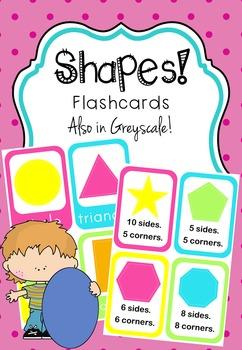 SHAPES - Flashcards