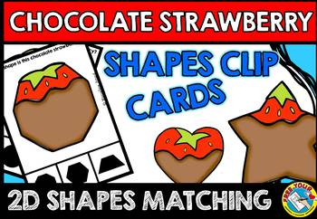 SHAPES KINDERGARTEN CENTER (CHOCOLATE STRAWBERRY SHAPES RE