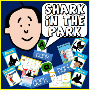 SHARK IN THE PARK STORY TEACHING RESOURCES LITERACY READIN