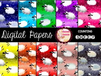 Sheep Digital Papers