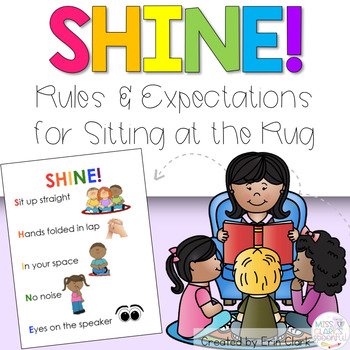 SHINE! Rules and Expectations for Sitting on the Rug