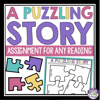 SHORT STORY CREATIVE ASSIGNMENT: STORY PUZZLE