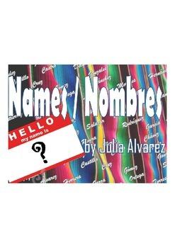"SHORT STORY ""Names and Nombres"" by Julia Alvarez IDENTITY"