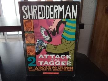 SHREDDERMAN   #2   ISBN 0-439-89756-4