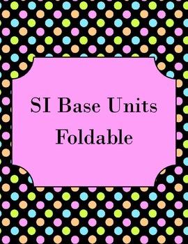 SI Base Units Foldable