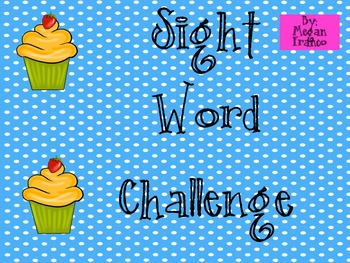 SIGHT WORD CHALLENGE
