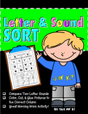 Letters and Sounds--Cut and Glue Activity