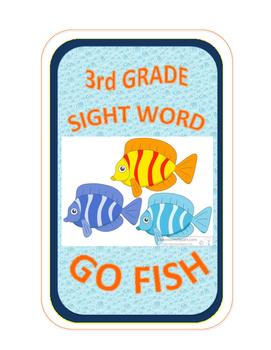 SIGHT WORD GO FISH - 3rd Grade
