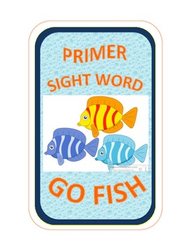 SIGHT WORD GO FISH COLLECTION