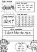 SIGHT WORD PRACTICE WORKBOOK ~ Book 11 {QLD Font}