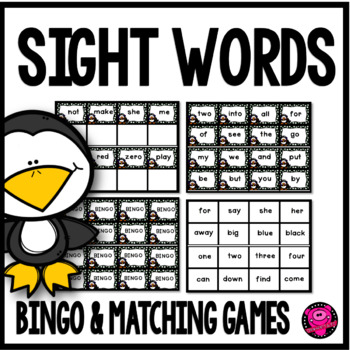 SIGHT WORD PRACTICE and GAMES for PRE-K through 1st GRADE