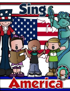 SING AMERICA {American History Songbook, Mapping & Activities}