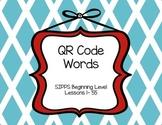 SIPPS Beginning Level QR Code Words