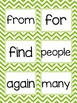 SIPPS Beginning Word Cards Bright Colors