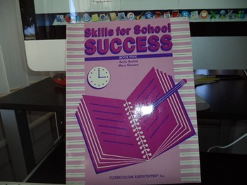 SKILLS FOR SCHOOL SUCCESS  ISBN 0-89187-998-6