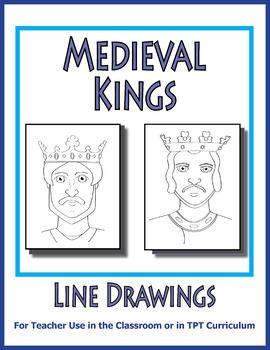 SL Clip Art - Medieval Kings - King Richard - King John Im