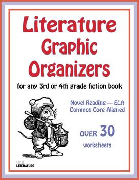 SL Literature Graphic Organizers for Any 3rd & 4th Grade F