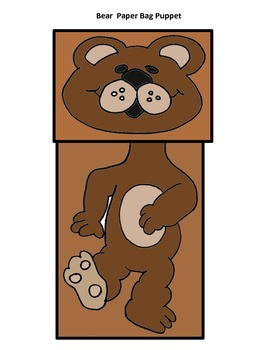 """SLA """"Oo"""" for Oso Paper Bag Puppet"""