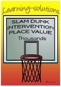 PLACE VALUE - Thousands - INTERVENTION & DIFFERENTIATION -
