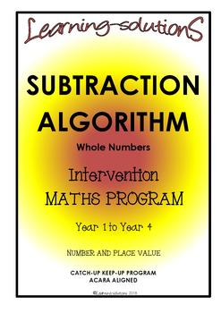 SUBTRACTION - INTERVENTION & DIFFERENTIATION Whole Class P