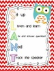 SLANT Posters {Owl Themed}
