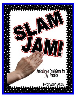 SPEECH THERAPY SLAP JACK! An Articulation Card Game for /K