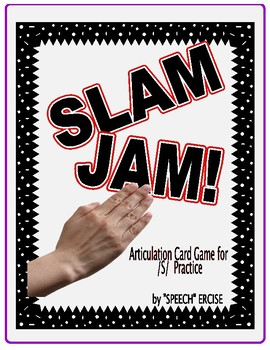 SPEECH THERAPY SLAP JACK! An Articulation Card Game for /S