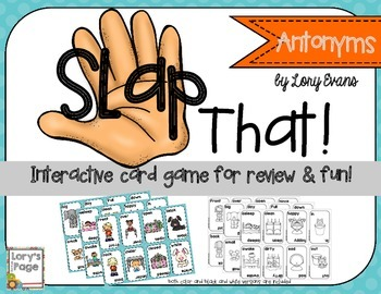 SLAP That! Antonyms