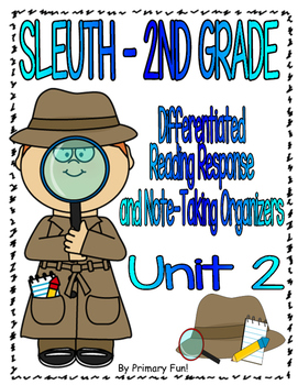 Reading Street (2013) - SLEUTH - UNIT 2 - 2ND GRADE
