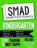 SMAD Math Fact Fluency Program *KINDERGARTEN*