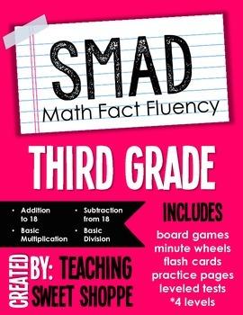 SMAD Math Fact Fluency Program *THIRD GRADE*