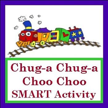 """SMART Activity to go with """"Chug-a Chug-a Choo Choo"""" by Lis"""
