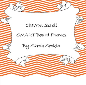 SMART Board Chevron Scroll Background Pages