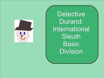 SMART Board: Detective Durand Intern. Sleuth: Basic Operat