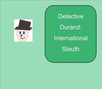 SMART Board: Detective Durand International Sleuth: Game: