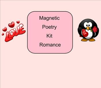 SMART Board: Magnetic Poetry: Creative Writing: Valentines