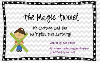 SMART Board Multiplication Magic Tunnel