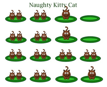 SMART Board Music Lesson: Quarter Rest Naughty Kitty Cat a