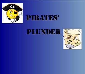 SMART Board: Pirates' Plunder: Beginning Money: Math: Smartboard