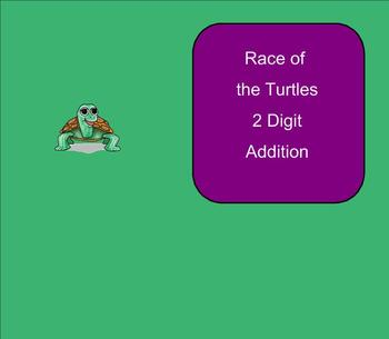 SMART Board: Race Turtles:  Basic Operations Game:  Math: