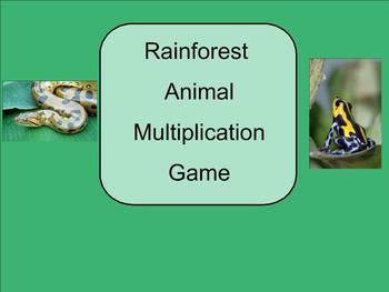 SMART Board: Rain Forest Rescue Game: How to Informational