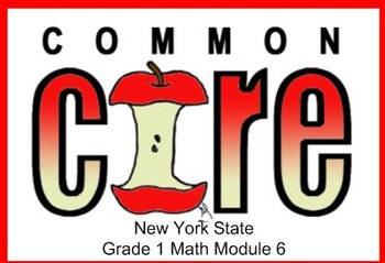 SMART Files for NYS 1st grade Math Module 6 Lessons in Top