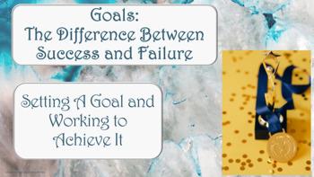 SMART Goal Setting LESSON  2 video links & worksheet inclu