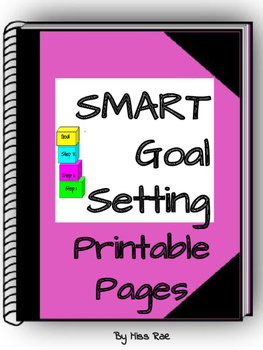 SMART Goal Setting Printable Pages Template