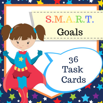 SALE S.M.A.R.T. Goals - 36 Task Cards