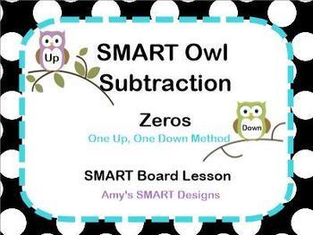 SMART Owl Subtracting Across Zeros SMART Lesson